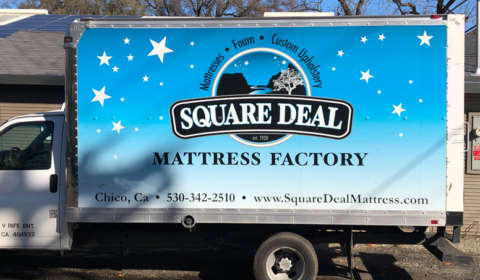 Square Deal Truck BEFORE